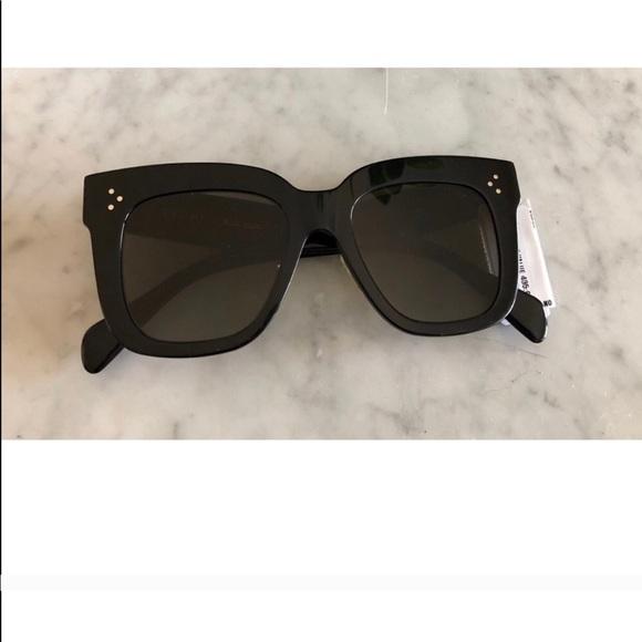 d123b607261 authentic black Céline Kim 41444 s sunglasses